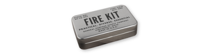 survival kit for fire starting flint and steel
