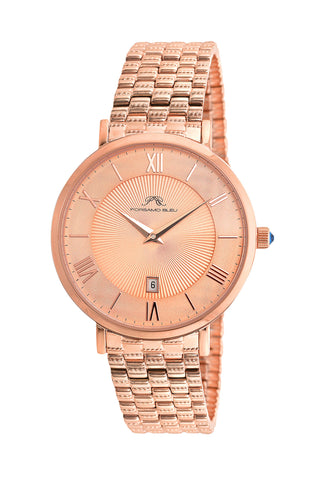 Porsamo Bleu Antonia luxury slim women's stainless steel watch, rose 431CANS