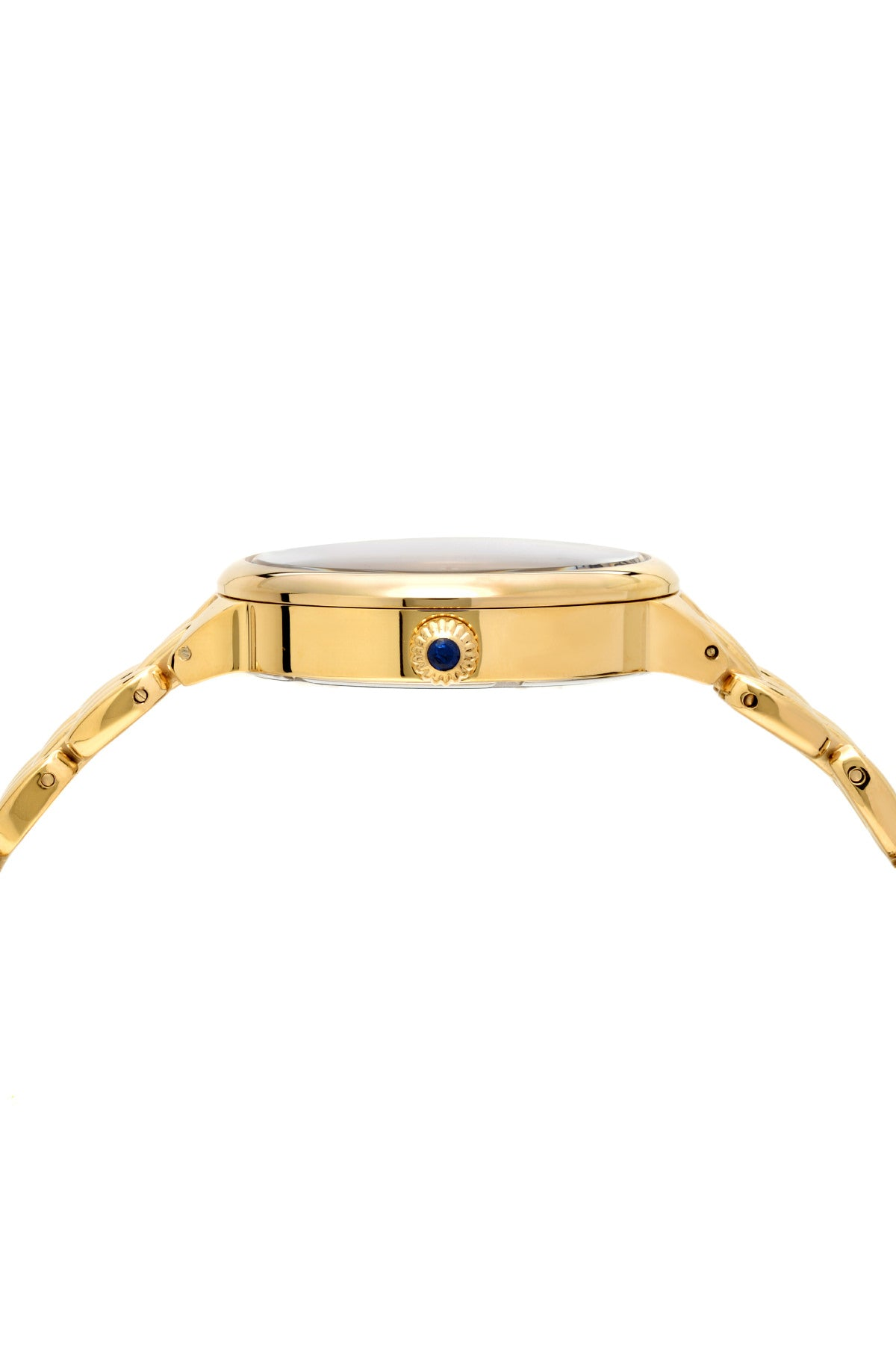 Porsamo Bleu Claire luxury diamond women's stainless steel watch, gold, black 722BCLS