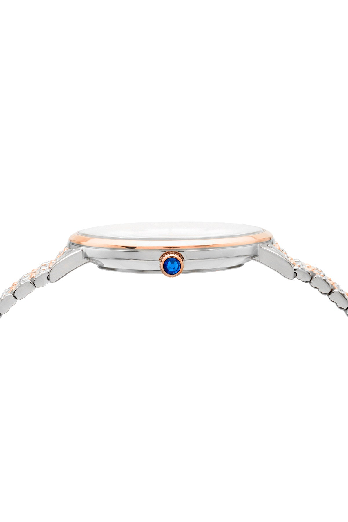 Porsamo Bleu Antonia luxury slim women's stainless steel watch, silver, rose 432BANS