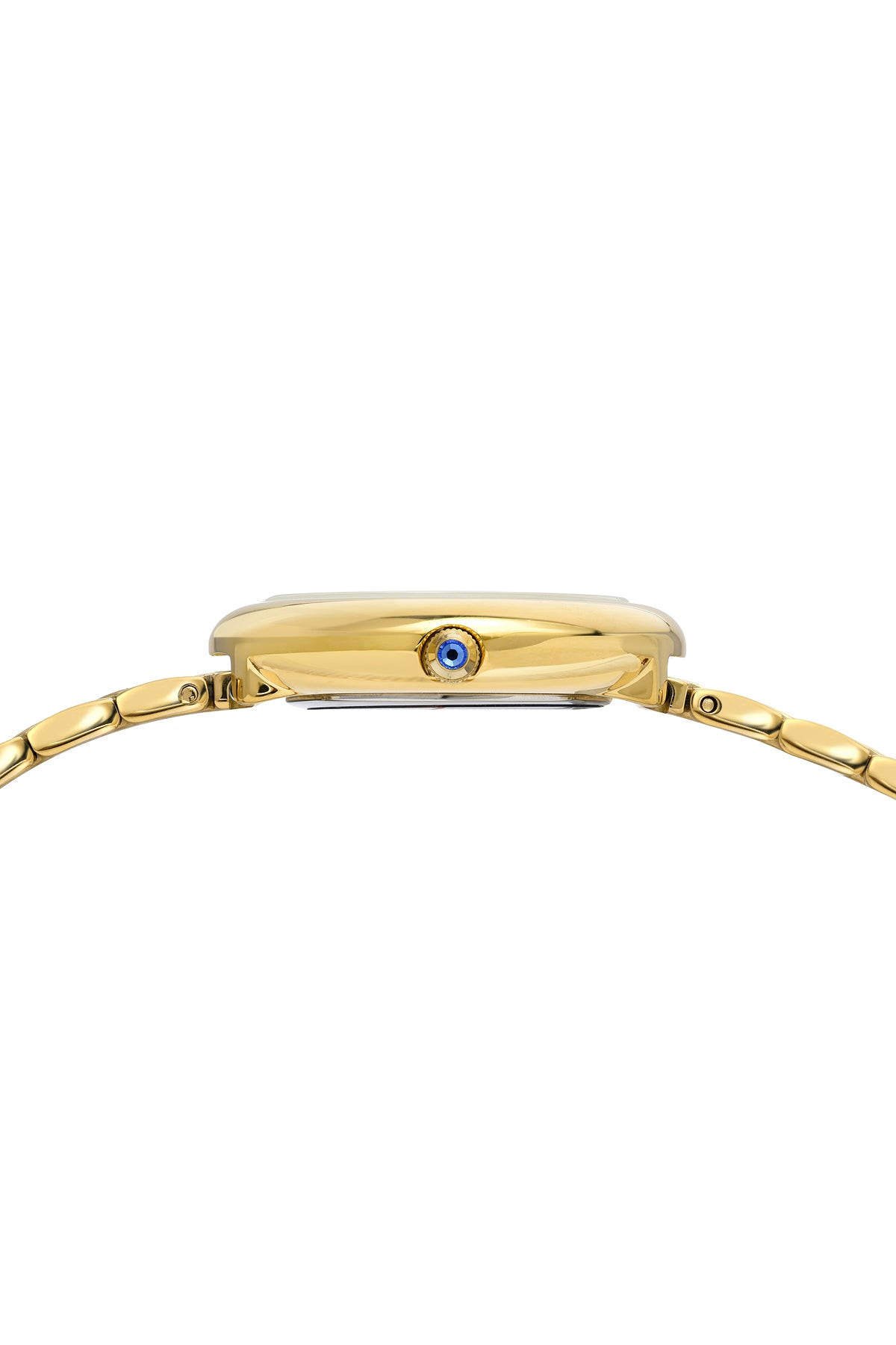 Porsamo Bleu Florentina luxury diamond women's stainless steel watch, blue, gold 902BFLS