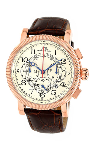 Phileas tachymeter chronoghraph men's dress watch 471CPHL