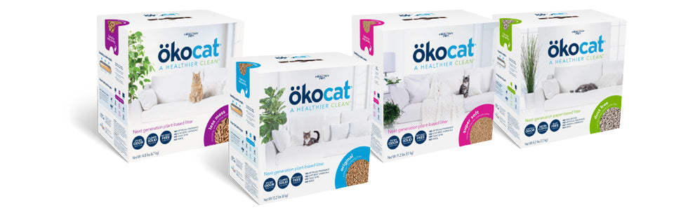 okocat litter varieties