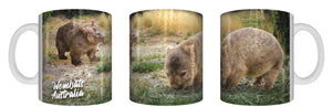 WOMBATS AUSTRALIA Mug 325ml Gift Aussie Australia Animal Native