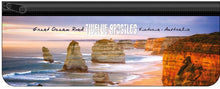 Load image into Gallery viewer, Large Neoprene Pencil Case Stationery or Make Up Bag Australian Travel Case Aussie Design