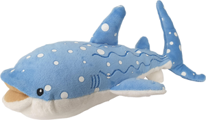 Wayne Light Blue Whale Shark Plush Toy 30cm