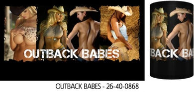 Outback Babes Sexy Babes Stubby Holder Drink Cooler Holder - fair-dinkum-gifts