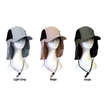 Load image into Gallery viewer, DESERT ECLIPSE HAT MICROFIBRE LIGHT WEIGHT UNISEX 3 COLOURS AVAILABLE - fair-dinkum-gifts