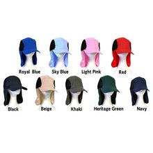 Load image into Gallery viewer, SAFARI HAT MICROFIBRE LIGHT WEIGHT UNISEX 9 COLOURS AVAILABLE - fair-dinkum-gifts