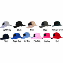 Load image into Gallery viewer, Bush Hat Microfibre Light Weight with Mesh Sides Unisex 12 colours available - fair-dinkum-gifts