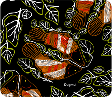 Load image into Gallery viewer, Mousemat Pad Neoprene Graham Kenyon Designs Aboriginal Indigenous Art