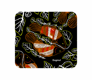 Neoprene Coasters Graham Kenyon Designs Aboriginal Indigenous Art - fair-dinkum-gifts