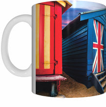 Load image into Gallery viewer, BEACH BOXES Mug Cup 300ml Gift Aussie Australia Life's A Beach Brighton - fair-dinkum-gifts