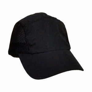 MICROFIBRE LIGHT WEIGHT CAP HAT WITH MESH SIDES UNISEX 12 COLOURS AVAILABLE - fair-dinkum-gifts