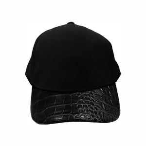 Croc Skin Curved Peak Cap Hat Australian Design Mens Womens Unisex 4 Colours Available - fair-dinkum-gifts