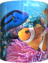 Load image into Gallery viewer, BLUE TANG & CLOWNFISH Mug Cup 300ml Gift Aussie Australia Fish Nemo Dory Great Barrier Reef - fair-dinkum-gifts