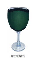 Load image into Gallery viewer, Wine Glass Cooler Drink Holder Neoprene Choose Your Designs Or Colours