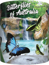 Load image into Gallery viewer, BUTTERFLIES OF AUSTRALIA Mug Cup 300ml Gift Aussie Australia Native Butterfly - fair-dinkum-gifts