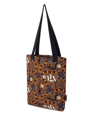 Bush Tucker Tote Bag Aboriginal