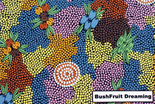 Load image into Gallery viewer, Bush Fruit Dreaming Large Tote Bag Aboriginal - fair-dinkum-gifts