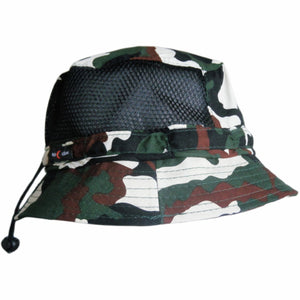 BUCKET HAT MICROFIBRE LIGHT WEIGHT WITH MESH SIDES UNISEX 12 COLOURS AVAILABLE - fair-dinkum-gifts