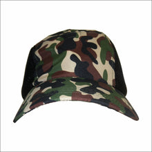 Load image into Gallery viewer, CAMO MICROFIBRE LIGHT WEIGHT CAP WITH MESH SIDES CAMOUFLAGE ARMY HAT - fair-dinkum-gifts