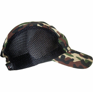 CAMO MICROFIBRE LIGHT WEIGHT CAP WITH MESH SIDES CAMOUFLAGE ARMY HAT - fair-dinkum-gifts