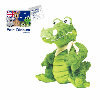 Colin Green Croc Plush Toy Crocodile Australia - 23cm - fair-dinkum-gifts