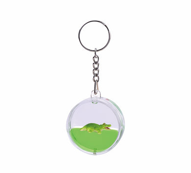 Oily Mini Water Disc Key Ring Aussie Gifts Coloured Liquid Floater Keyrings - fair-dinkum-gifts