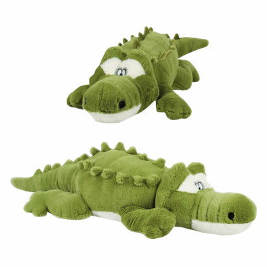 Cross Eyed Green Croc Plush Toy Crocodile Australia - 50cm - fair-dinkum-gifts
