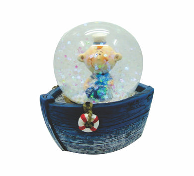 45mm Water Balls Glitter Globes Desk Accessories Animal Sailors Gifts Waterballs - fair-dinkum-gifts