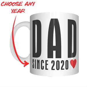 Dad Since 2020 Coffee Mug Gift For Father's Day FDG07-92-26037