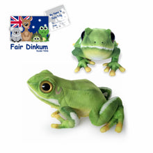 Load image into Gallery viewer, Felix Frog Plush Toy Australia - 29cm - fair-dinkum-gifts