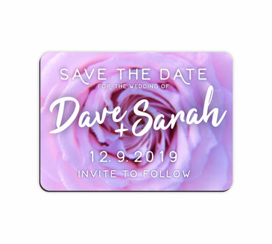 Bulk Lot Save The Date Customised Magnets Wedding Brides Grooms Name Flexi - fair-dinkum-gifts