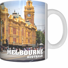 Load image into Gallery viewer, FLINDERS STREET Mug Cup 300ml Gift Aussie Australia Station Trains Melbourne - fair-dinkum-gifts