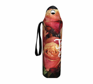Bulk Customised Long Neck Bottle Coolers Holders Floral Wedding Favours Roses Gifts - fair-dinkum-gifts