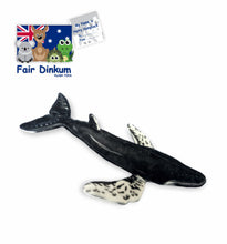 Load image into Gallery viewer, Harry Humpback Whale Plush Toy Australia - 60cm - fair-dinkum-gifts