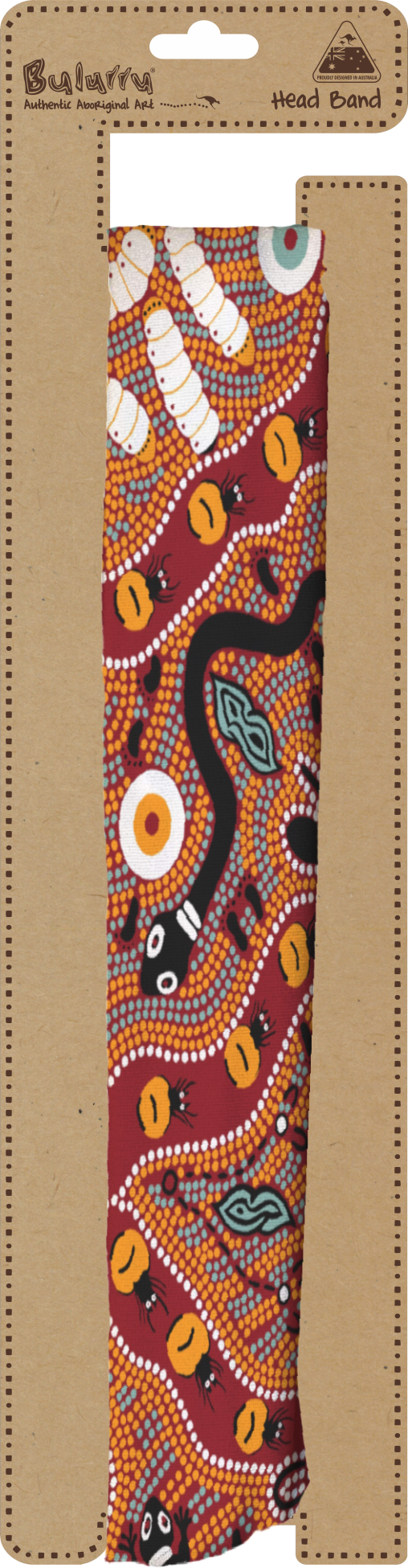 **NEW** Bulurru Head Band - 4 Aboriginal designs to choose from