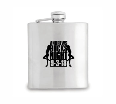 Personalised Hip Flask Wedding Thank You Gifts Best Man Father of The Bride Favours Bucks Hens - fair-dinkum-gifts