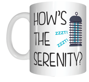 How's The Serenity Coffee Mug Gift The Castle Movie FDG07-92-26006