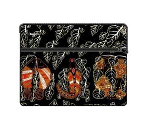 Graham Kenyon Ipad Case Bag with Zip and Strap Aboriginal Indigenous Art - fair-dinkum-gifts