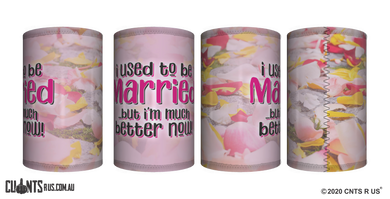 I Used To Be Married Stubby Holder CRU26-40-12143