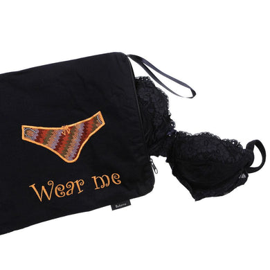 Wash Me/Wear Me Bag - 2 pocket Underwear Bag Aboriginal