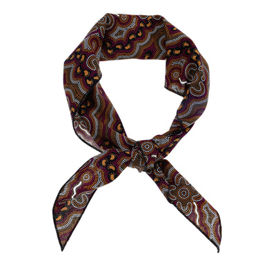 Aboriginal Bandana Bulurru Australia Indigenous Design Hair Accessories