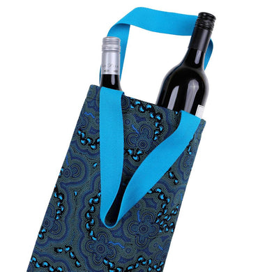 Wine Bag - 8 Aboriginal Designs To Choose From