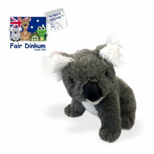 Keira Koala Plush Toy Australia - 24cm - fair-dinkum-gifts