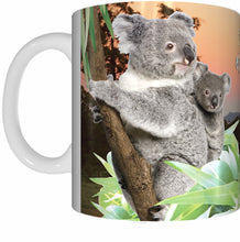 Load image into Gallery viewer, KOALA NURSERY Mug Cup 300ml Gift Native Aussie Australia Animal Wildlife Birds Baby Koalas Joeys - fair-dinkum-gifts