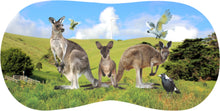 Load image into Gallery viewer, Glasses Case Neoprene w/Belt Clip Aussie Designs Australian Themes Animals Souvenirs