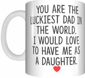 Fathers Day Coffee Tea Mugs Funny Gifts Presents Birthday Christmas - fair-dinkum-gifts
