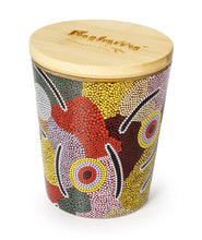 Load image into Gallery viewer, Bulurru Aboriginal Soy Candle Mans Ceremony Vanilla Caramel
